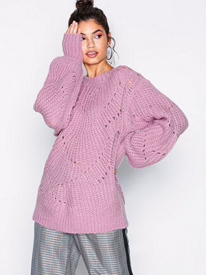 NLY Trend Pattern Detail Knit Rosa