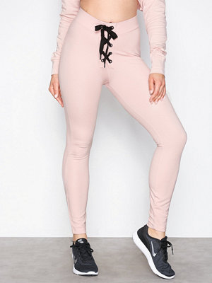 NLY SPORT Hot Trainer Tights Rosa