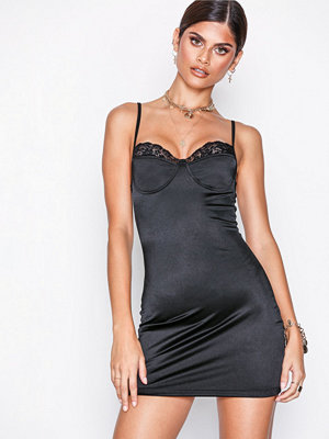 Motel Lesty Dress Black
