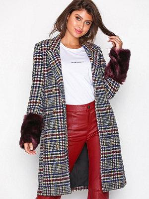 Y.a.s Yascheck Faux Fur Coat