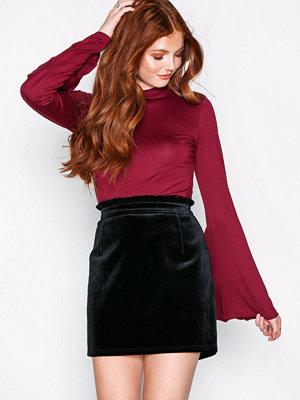 NLY Trend Velvet Waist Skirt
