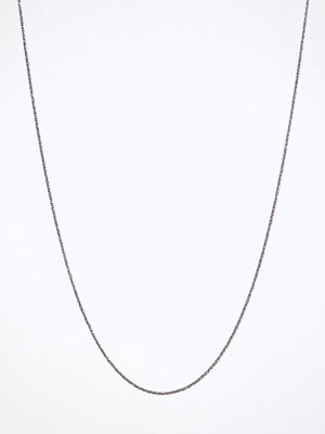Blue Billie halsband Criss Cross Chain 60cm Svart