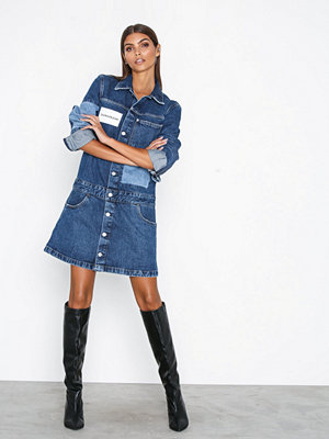 Calvin Klein Jeans One Pocket Trucker Dress