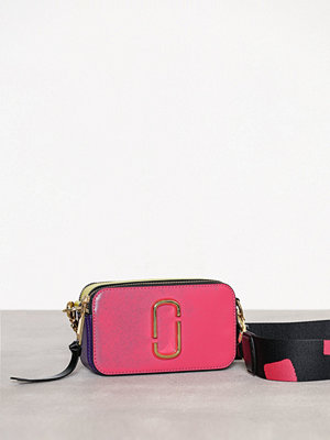 Marc Jacobs rosa axelväska Snapshot Bag Peony