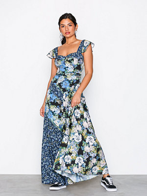 Free People La Fleur Maxi Dark Blue