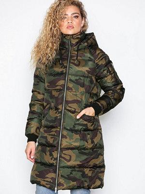 Dunjackor - Vero Moda Vmsavannah 3/4 Printed Jacket