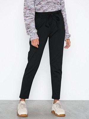 MOSS Copenhagen svarta byxor Popye Pants Black