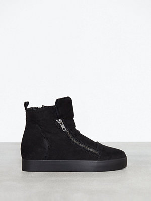 Duffy Wedge Zip Sneaker Svart