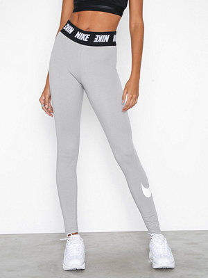 Leggings & tights - Nike NSW Club Legging HW Grå