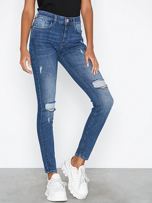 River Island Amelie Maggie Jeans Mid Blue