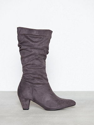 Duffy Slouched Boot Grå