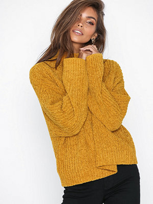 New Look Wide Sleeve Jumper Mustard
