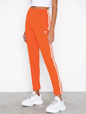 Adidas Originals röda byxor SST Tracksuit Pants Orange