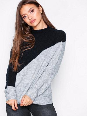 Jacqueline de Yong Jdyeva L/S Pullover Knt Blå