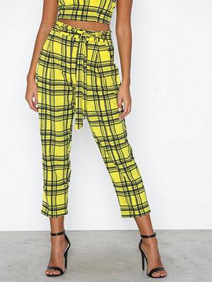 NLY Trend rutiga byxor Printed Check Pants
