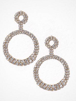 Glamorous örhängen Circle Drop Earrings Gold