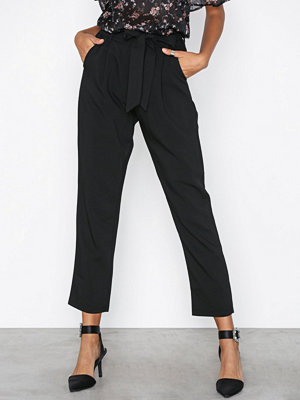Glamorous svarta byxor High Waisted Pants Black