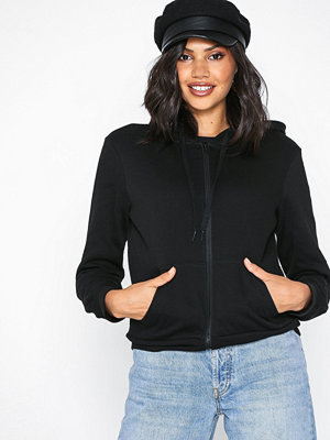New Look Basic Zip Thru Hoodie Black