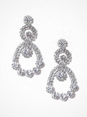 Glamorous örhängen Circle Drop Earrings Silver