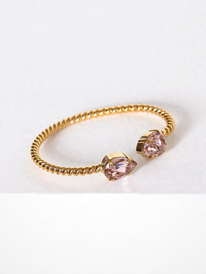 Caroline Svedbom armband Mini drop bracelet Rose