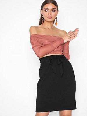 Object Collectors Item Objraisa Hw Plissé Skirt a Rep Svart