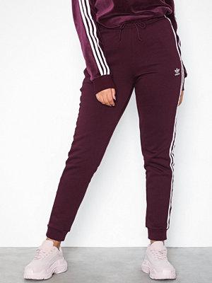 Adidas Originals byxor Regular Tp Cuff Maroon