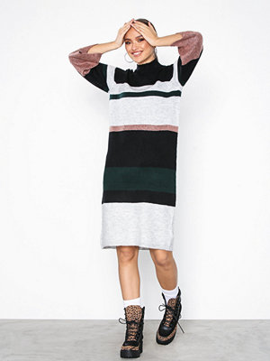 Object Collectors Item Objcody Evelyn L/S Knit Dress 98 Rosa