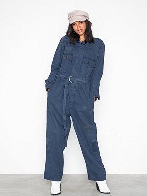 Polo Ralph Lauren Kndy Jmpst-Straight-Jumpsuit Blue