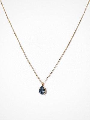 Caroline Svedbom halsband Mini Drop Necklace Blå
