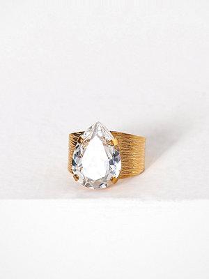 Caroline Svedbom Classic drop ring Crystal