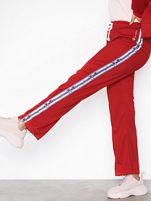 Champion röda byxor Straight Hem Pants Red