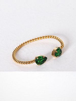 Caroline Svedbom armband Mini drop bracelet Moss