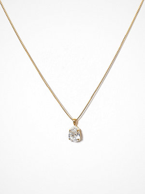 Caroline Svedbom halsband Mini Drop Necklace Crystal