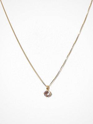 Caroline Svedbom halsband Classic Stud Necklace Rose