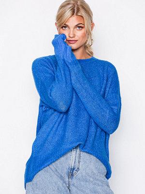 Vero Moda Vmcute Ls Oversize Blouse Blå