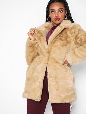 Only onlMILANA Faux Fur Coat Otw