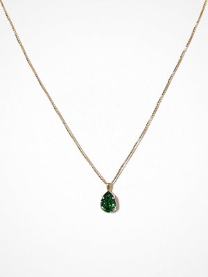 Caroline Svedbom halsband Mini Drop Necklace Moss
