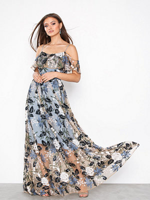 True Decadence Floral Embroidered Maxi Dress