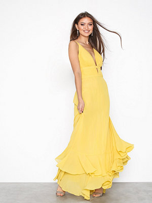 True Decadence Flounce Maxi Dress