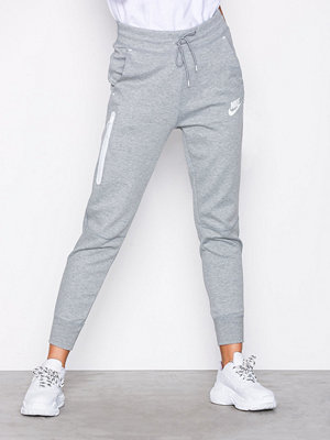 Nike ljusgrå byxor NSW Tech Fleece Pant Grå