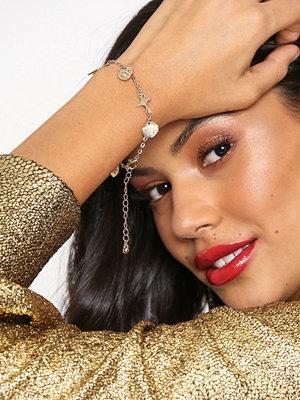 Missguided Jewelry armband Cross Charm WW Bracelet Gold
