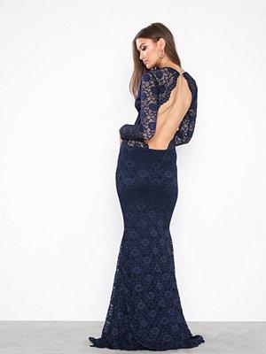 Honor Gold Vanessa Lace Maxi Dress Navy
