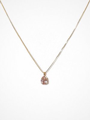 Caroline Svedbom halsband Mini Drop Necklace Rose