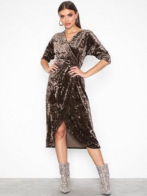 Vila Vivelvi L/S Wraped Dress/Db