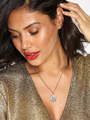 Missguided Jewelry halsband Coin Ditsy Necklace Gold