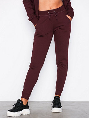 New Look omönstrade byxor Basic Jogger Wine