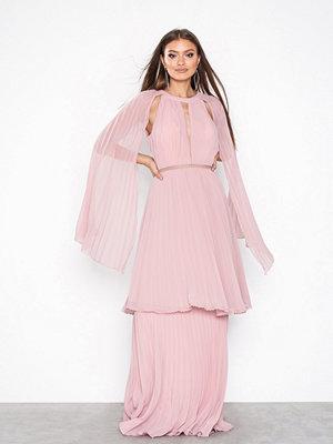 True Decadence Long Sleeve Frill Dress Pink