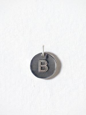 Blue Billie smycke Letter Pendant B