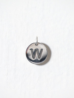 Blue Billie smycke Letter Pendant W