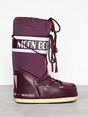 Stövlar & stövletter - Moon Boot Moon Boot Nylon Burgundy